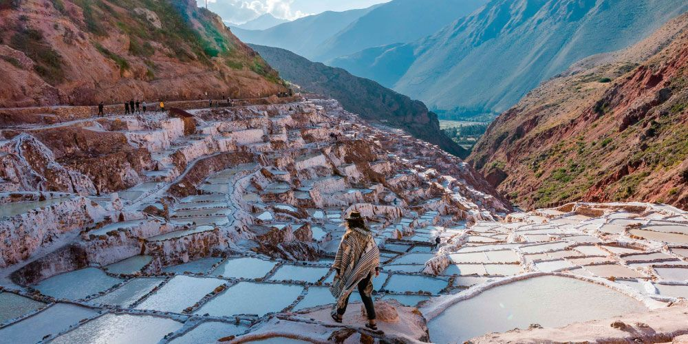 Maras and Moray Half Day Tour, Visit the Salt Mines Circular Terraces