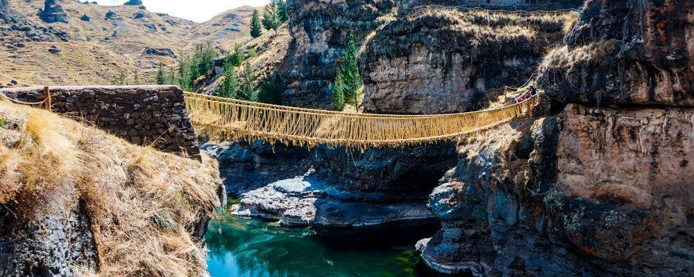 Inca Bridge Q'eswachaka